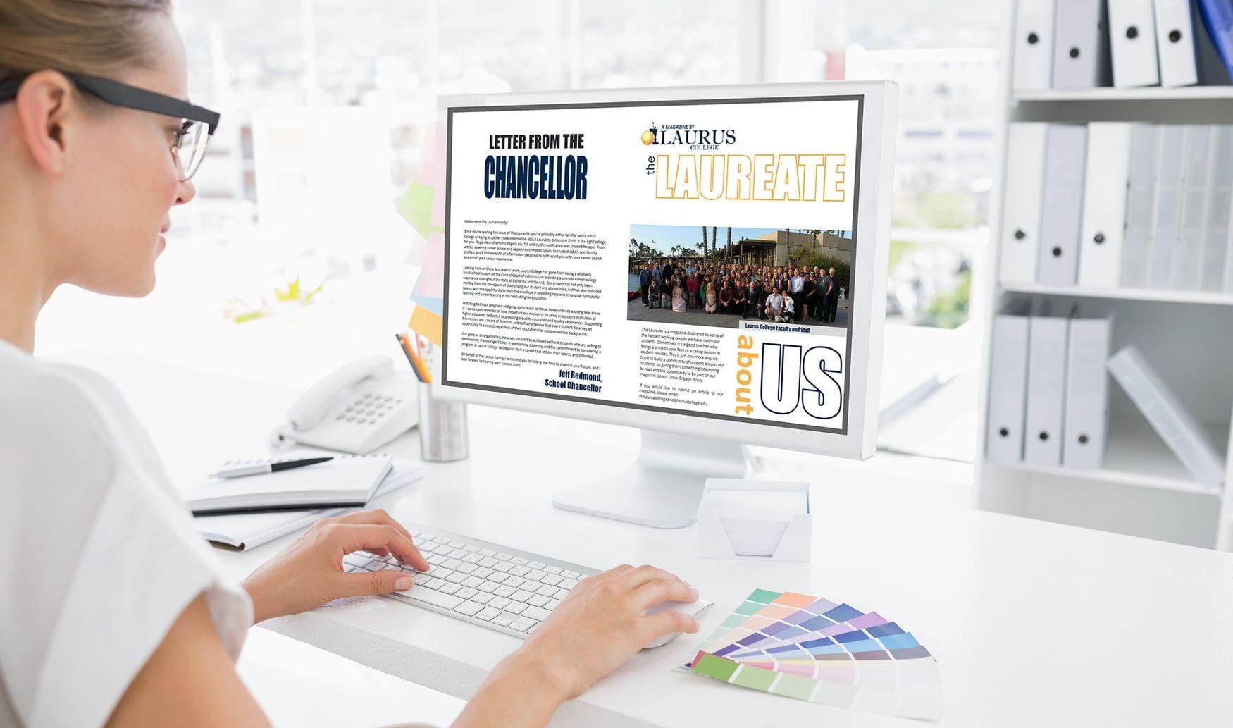 Laurus College – The Laureate Magazine
