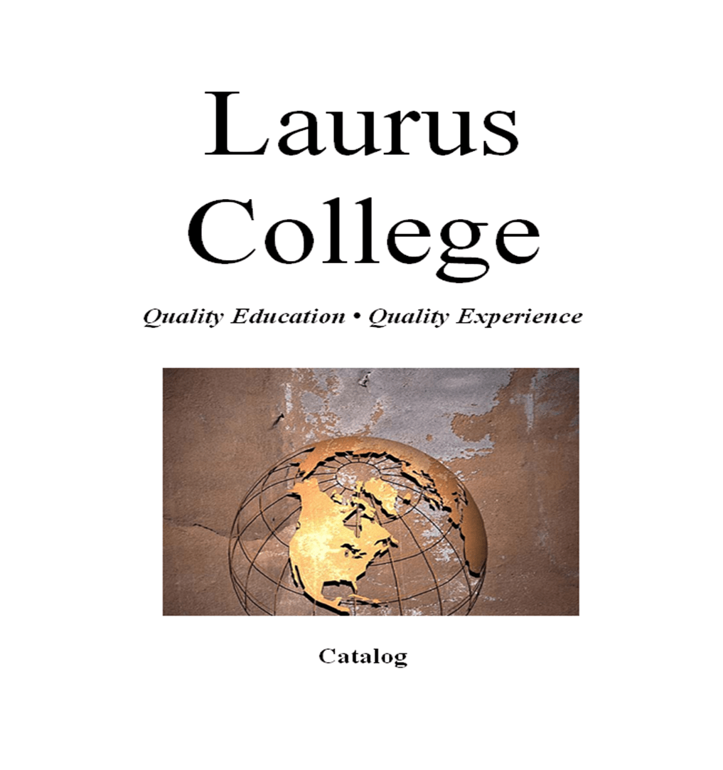 Laurus College Catalog Page