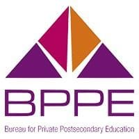 Approved to operate by the California Bureau for Private Postsecondary Education (BPPE)