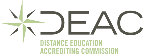 Accredited by the Distance Education Accrediting Commission (DEAC)